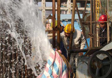 湛江钢铁基地高清图片