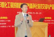 中国石油和化学工业联合会中小企业委员会主任冯世良先生发言